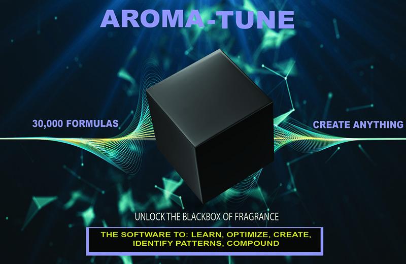 AROMA TUNE AD BlackBox Chemical Bonds Background